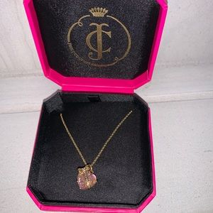 Juicy couture necklace with box